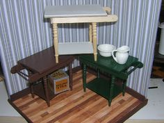 Three more washstands | clmt's Miniature World