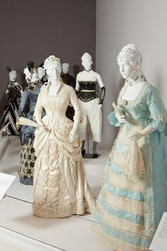 The Fashionable Silhouettes exhibition chronicles 300 years of style at The Mint Museum Randolph.