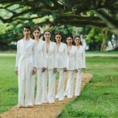 These minor tweaks can make your wedding more gender inclusive, and make everyone involved feel much more comfortable Gender Inclusive, Wedding Suits, Wedding Dresses, Bridesmaid Outfit, Bridesmaids, Lesbian Wedding, Maid Of Honor, Getting Married, Dream Wedding