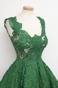 U0005-colher-Vestidos-verde-vestido-de-renda-curto-Formal-mulheres-vestido.jpg (1000×1500)