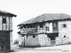 Canzana. Colección paisajes a plumilla. Año 2003