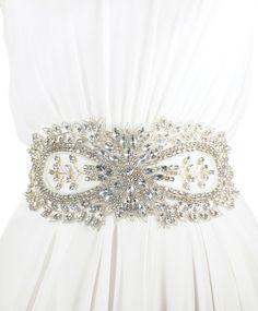 Jolie Sash | Kirsten Kuehn || handmade crystal bridal sashes & embellished accessories