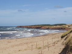 Cavendish #Beach is located within the Prince Edward Island National Park.  http://www.mapsofworld.com/travel/destinations/canada/cavendish-beach