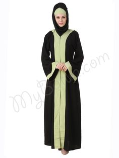 Sheila Black Nida Dubai Abaya fdc67a804628