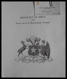El Viejo Libro, Libreria Anticuaria, Edward Contreras Vergara, www.elviejolibro.tk: República de Chile 1974