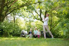Pitch & Put in een mooie groene omgeving. Ook Boerengolf is een leuke activiteit op ons park.