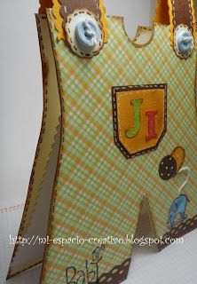 218. - Tarjeta para Baby Shower JI y Reto
