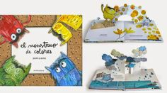 monstruo-pop-up Pop Up, Spanish Colors, Books, Website, Cover, Google, Reading Room, Activities, Multiplication Activities