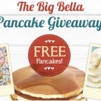 Feeling a little peckish and could do with some free Bella Italia pancakes? For the sake of clicking our GET FREEBIE button you can get your hands on them tomorrow 9th February 2016.