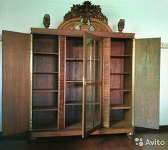 Шкаф старинный антикварный довоенный— фотография №3