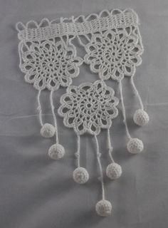Rideau crochet dentelle crochet dentelle crochet