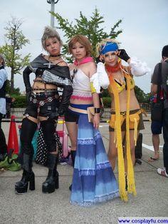 Rikku Cosplay from Final Fantasy in Summer Comiket 78 2010 Tokyo