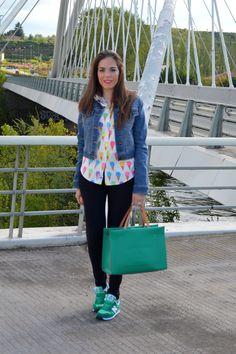 Through my closet lleva bolso de piel Robert Pietri de la Colección GALES SS 2015  #handbags #robertpietri #bolsos #moda #tendencias #bloggers #throughmycloset