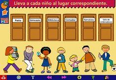 Para el aprendizaje de vocabulario dirigido a niños de a partir de 7 años de edad - en español.