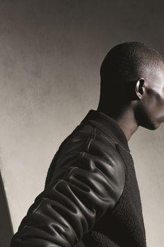 Hermès Fall-Winter 2014. Reversible teddy blouson in tin-brown/brown babylamb #hermes #menswear #fashion #hermeshomme