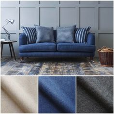 Wool sofas are perfect for cuddling up with loved ones and the ideal spot for some 'me-time'. Due to the natural qualities of wool, it's incredibly hard wearing so your sofa will always look as good as new.  Order your wool fabric samples today, or visit your nearest showroom to browse our fabric libraries  #sofasandstuff #interior #interiors #interiordesigns #interiordesigner #sofa #sofas #bespokesofa #wool #woolsofa #woolchair #woolsofas #fabric #fabrics #fabricsamples #woolfabric…