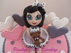 Pinokyo Butik Kurabiye ve Pasta - İzmit: Sakarya'dan Azra Sare'nin doğum günü pastası...