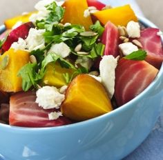Roasted beets recipe with lemon. skip the optional feta and you'll have a nutritious detox friendly side dish.