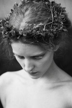 Ekaterina Grigorieva.  I think it's the white eyelashes that make me like this.