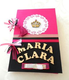 Livro de assinatura - Preto e Pink kecaatelie@gmail.com