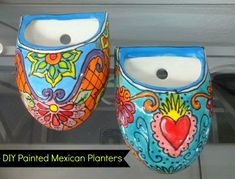 DIY Mexican-inspired Planters | CraftyChica.com | Official site of award-winnning artist and novelist, Kathy Cano-Murillo.