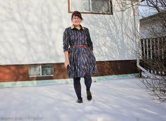 Seams Like Chrystal: McCall's M6696 shirtdress pattern