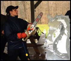 Ice Carving Boot Camp Special Forces 2015 Heather Brice