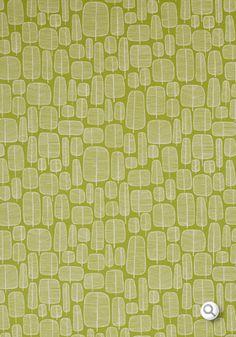 Little Trees Moss Fabric