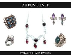 Dhruv Silver is a well known and reputed #Manufacturers and #supplier of #Sterling #Silver #Jewelry in #wholesale prices.