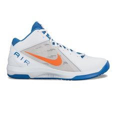 Nike The Air Overplay IX Men's Basketball Shoes, Size: 7.5, Natural