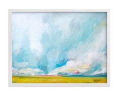 """Savannah Lands"" - Art Print by Emily Jeffords in beautiful frame options and a variety of sizes."