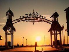 Ocean City Boardwalk.  A great evening spent with my fellow camp collegues.