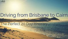 Cairns to Darwin // Your 14 Day Road Trip Itinerary - Big World Small Pockets Throughout our whole road trip around Australia, it's definitely the section from Cairns to Darwin that sticks out most in our minds and here's why . Australia Photos, Australia Travel, Brisbane To Cairns, Litchfield National Park, Australian Road Trip, Rainbow Beach, Fraser Island, Sailing Trips, Mission Beach