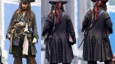 Капитан Джек Воробей. Одежда