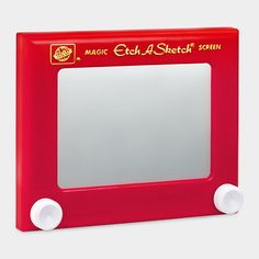 Etch A Sketch: I was an expert on this as an adolescent--which maybe helped in mastering AutoCAD many years later!
