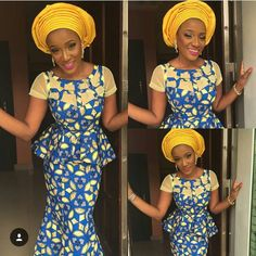 Check Out This Skirt and Blouse Design - http://www.dezangozone.com/2016/01/check-out-this-skirt-and-blouse-design.html DeZango Fashion Zone