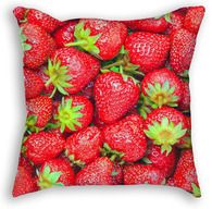 Strawberry Throw Pillow Strawberry, Pillow Ideas, Throw Pillows, Fruit, Prints, Cushions, The Fruit, Strawberry Fruit, Decorative Pillows
