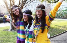 Hay Girls! We are so excited to introduce our custom made and designed Mardi Gras Braid (striped purple, green, and gold) Haybands! This triple elastic with glitter headband is uniquely one of a kind and our own design. New Orleans exudes a culture that can not be replicated or found anywhere els...