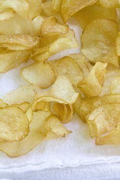 Homemade salt & vinegar chips!!!