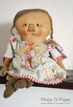Primitive doll.