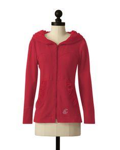 The Washington State University Hooded Comfort Jacket