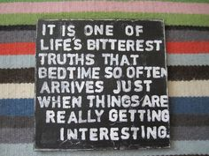 Lemony Snicket It Is One of Life's Bitterest Truths 12x12 distressed canvas wall art. $20.00, via Etsy.