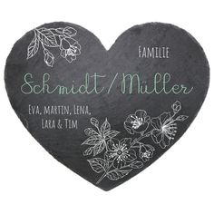 Schild Hängeschild Wandschild Schiefer Rezept für Zuhause Familie Stückpreis