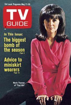 "TV Guide: May 17, 1969 - Marlo Thomas of ""That Girl"""