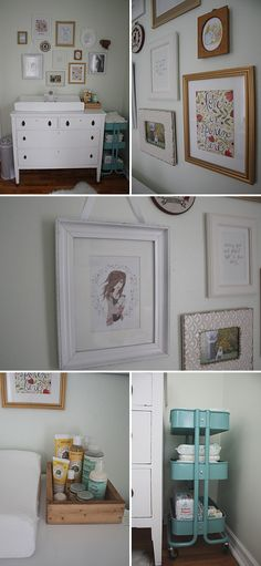 A Light and Dreamy Gender-Neutral Nursery - some little things I like