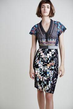 Byron Lars Margot Pencil Dress