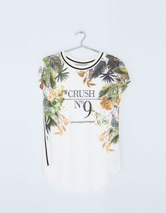 Bershka United Kingdom -Bershka message T-shirt