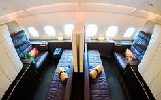 Etihad A380 connecting First Class Apartments