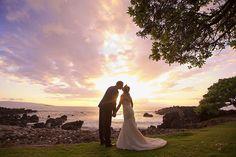 Sunset Bliss at Kukahiko Estate - Just Maui'd - Anna Kim Photography
