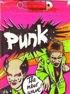 Punk rock trading cards from 1977 | Dangerous Minds